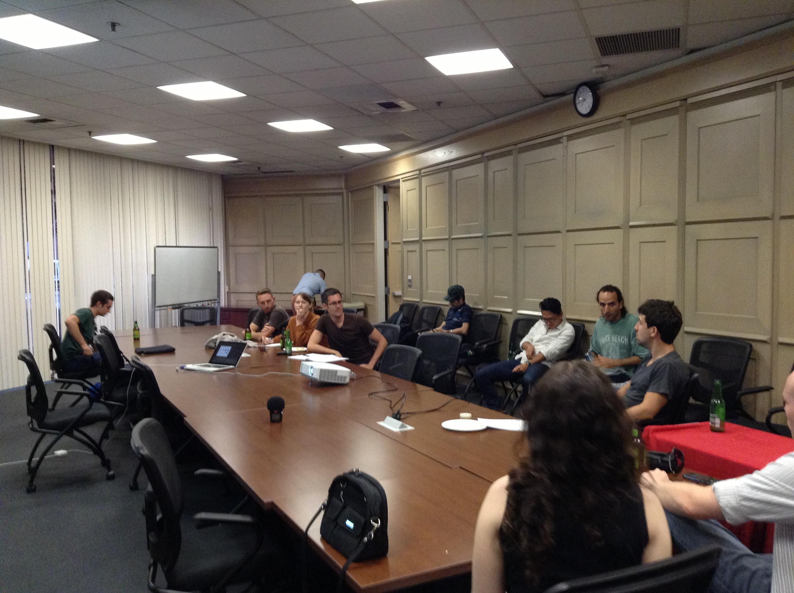 USC OpenScience Meetup 18 juillet 2013