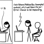 Server Problem CC-BY-NC XKCD