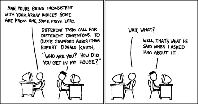 Donald Knuth CC-BY-NC xkcd